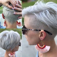 Kort haar met een opgeschoren nek is helemaal HOT! Check snel deze 10 korte kapsels met een undercut! - Kapsels voor haar