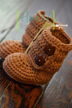 Boots  Ugg Style in 100 superwash merino Wool by hookedbykristen, $20.00