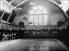 Milton Road, Swindon.  Victorian baths still in use today!