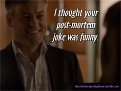 Lestrade to Molly