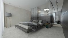 Beautiful and modern bedroom in the Templiner Park property development.