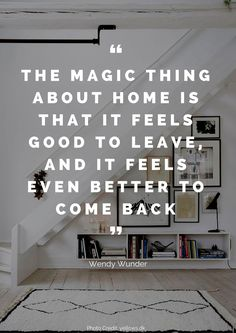 How much do you love your home? We've pulled together the 36 most beautiful quotes about the home that we could find. From Walt Disney to Benjamin Franklin, you are bound to leave this post thinking about your home in a different way. Back Home Quotes, Home Decor Quotes, Home Quotes And Sayings, Quotes About Home, Coming Home Quotes, Quotes About Leaving Home, Home Qoutes, Happy Home Quotes, Unique Home Decor
