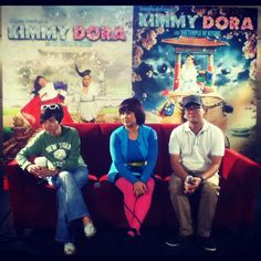 Kimmy Dora and the Temple of Kiyeme with Director Joyce Bernal, Eugene Domingo and Chris Martinez under Star Cinema and Spring Films