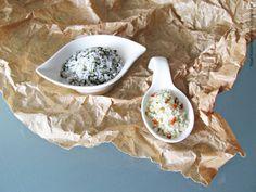 Flor de sal aromatizada