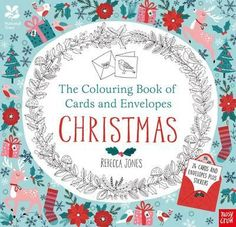 The National Trust: The Colouring Book of Cards and Envelopes - Christmas