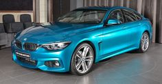 BMW 420i Gran Coupe Looks Good In This Hue Of Blue #BMW #BMW_4_Series