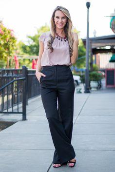 Crush On Comfy Pants, Black