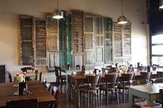 Interior of the café