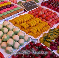 marzipan fruit & veg.