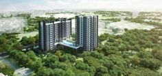 Trilive Facade  Trilive new condo at kovan. Freehold with 222 units of 1-4 bedrooms. near to kovan mrt and market.  visit http://www.thenewcondosg.com/trilive-kovan for more info