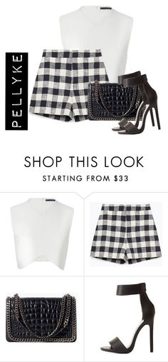 """""""x"""" by pellyke ❤ liked on Polyvore featuring Zara and Charlotte Russe"""