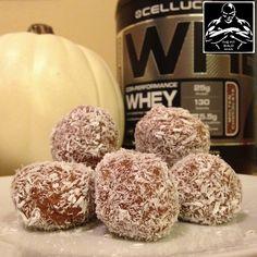 Pumpkin Chocolate Protein Balls