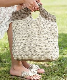 Ravelry: S8461 Crocheted Bag pattern by Schachenmayr