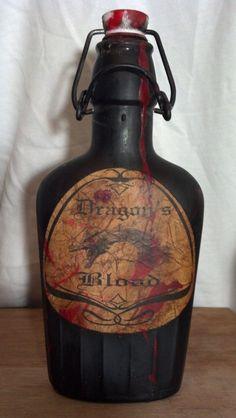 Dragons blood bottle