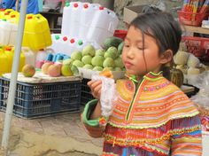 Scene from the market in Bac Ha, Vietnam by Bob #travel #asia