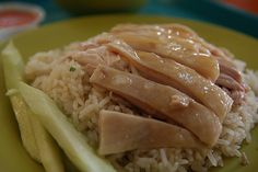 Chinese chicken rice- this is a brilliantly sophisticated yet simple Chinese dish of steamed and then roasted chicken with boiled rice. The quality of the taste varies according to the stock and chilly sauce served with it. You will only find it in food courts and hawker stalls.