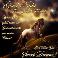 Good Night Family and Friends Good Night Family, Good Night Friends, Good Night Wishes, Good Night Sweet Dreams, Good Morning Good Night, Good Morning Quotes, Night Time, Night Night, Goodnight Quotes Inspirational