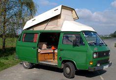 VW T3 Van (built 1984), Carthago 'Zwitterdach'