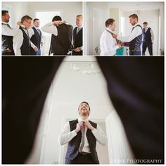 Groomsmen getting ready.  North East and Newcastle based wedding photography
