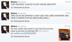 Don't post pictures of you credit card!