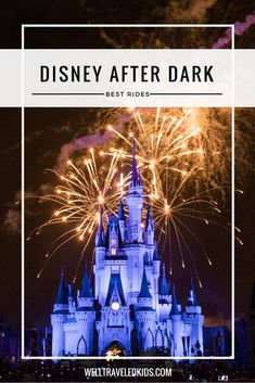 The real excitement at Walt Disney World starts when the sun goes down. We have the scoop on the 10 most fun Disney World night rides. Not sure which rides to wait until nighttime to ride, don't miss this Disney after Dark list! Disney World Rides, Disney World Florida, Disney World Parks, Walt Disney World Vacations, Florida Travel, Florida Usa, Travel Usa, Orlando Florida, Disney Travel