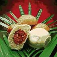 Manapua The Real Thing...This recipe originally came from a local Hawaiian newspaper. This is a recipe for authentic, old fashioned Manapua! This recipe is a bbq'd pork filled, steamed bun that makes a great meal or a quick snack.