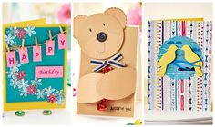 If you're looking to take up a new hobby in 2016, you can't go wrong with card making. Start your journey with these three easy cards to make.