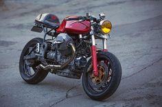 Moto Guzzi 1100 Sport Cafe Racer – The simple rule