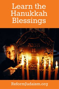 Learn to say the Hanukkah blessings the right way! Use this guide to teach your children how to recite the Hanukkah prayers.