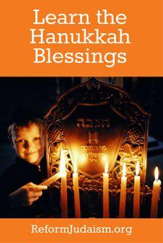 print, and hear the Hanukkah blessings! Use this guide to teach your family how to recite the Hanukkah prayers.Read, print, and hear the Hanukkah blessings! Use this guide to teach your family how to recite the Hanukkah prayers. Hanukkah Blessings, Hanukkah Lights, Hanukkah Candles, Feliz Hanukkah, Hanukkah Decorations, Hanukkah Menorah, Christmas Hanukkah, Hannukah, Culture