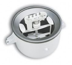 Amazon.com: KitchenAid KICA0WH Ice Cream Maker Attachment: Kitchenaid Mixer Attachments: Kitchen & Dining