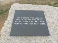 """""""Sad, but so true. No one cared when we came back""""      The above statement was made by a Vietnam Vet But I want them to know that  I cared and still do. Thanks to all Vietnam Vets!"""