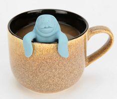 i love manatees and tea! give me! #toocute #manatee #tea