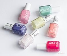 decisions, decisions! which essie polish is your fave?