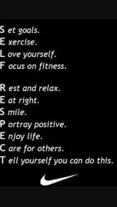 Self-Respect.i like that if you leave out one of these letters it wouldn't spell the words right - all of these are imperative to full self respect! Fitness Motivation, Sport Motivation, Fitness Workouts, Fitness Quotes, Weight Loss Motivation, Workout Quotes, Workout Exercises, Daily Motivation, Fitness Words