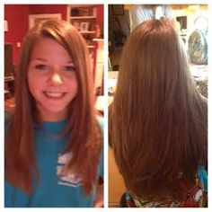 Great tween layered hairstyle for long hair! #Shelley-best hairstylist ...