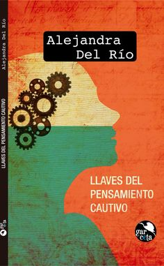 Llaves del pensamiento cautivo portada de libro de poesía poetry orange book…