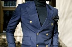 THE SHARP DRESSER: Only the most debonair know how to do this!  #Aim2Win