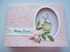 StampIn UP Ears To You.  Happy Easter.