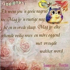 Night Wishes, Day Wishes, Good Night Quotes, Morning Quotes, Evening Greetings, Goeie Nag, Goeie More, Special Quotes, Pretty Pictures