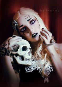 tim burton inspired makeup | ... raemarshall.com