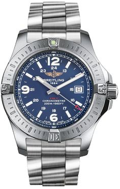Best luxury watches for men Breitling Colt Quartz. More style news, suit reviews, tips & tricks and coupons at www.indochino-review.com #IndochinoReview