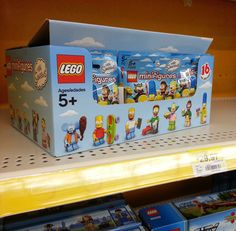 LEGO Simpsons Minifigures | LEGO Simpsons Minifigures Series 71005 Released Early! — 11 Comments
