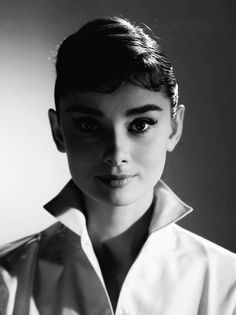 Audrey Hepburn photographed by Jack Cardiff, 1956