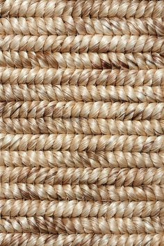 Cordova abaca rug in Coconut colorway, by Merida.