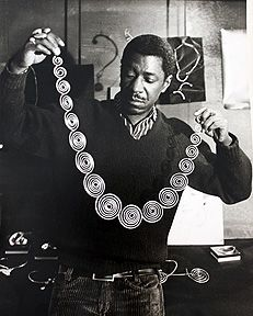 """""""Arthur Smith was born to Jamaican parents in Cuba in 1917. His family settled in Brooklyn in 1920 and Smith showed artistic talent at an early age, winning honorable mention as an eighth grader in a poster contest held by the American Society for the Prevention of Cruelty to Animals. Encouraged to apply to art school, he received a scholarship to Cooper Union for the Advancement of Science and Art."""""""