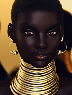 Most beautiful Nubian Queens on planet earth happen to be beautiful black women. A Nubian queen is an endearing name that is used in African American culture. It refers to the women as gods or goddesses and pays them the highest level of respect. Black Girl Art, Black Women Art, Black Girl Magic, Black Girls, Black Art, Beautiful Dark Skinned Women, Beautiful Black Women, Beautiful Models, Beautiful Eyes