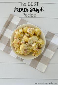 The Best Potato Salad Recipe - Create Bake Make