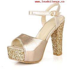 Resultado de imagen de zapatos de plataforma para mujer dorados