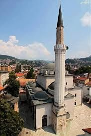 Gazi Husrev-bey Mosque, Sarajevo was  built in the 16th century in Classical Ottoman style and is the largest historical mosque in Bosnia-Herzegovina.
